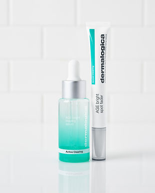 AGE Bright Clearing Serum and Spot Fader