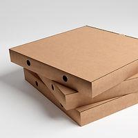 Pergano Pizzakarton Naturlinie