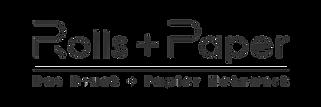 Rolls + Paper Logo