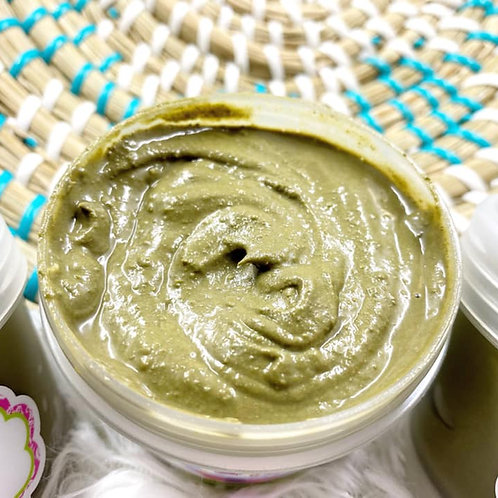 Matcha Face Mask with Sea Clay