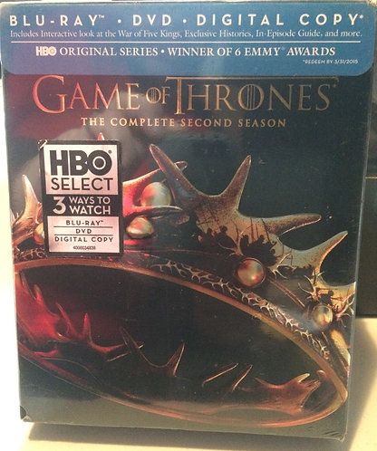 Game of Thrones Season Two (blu-ray)