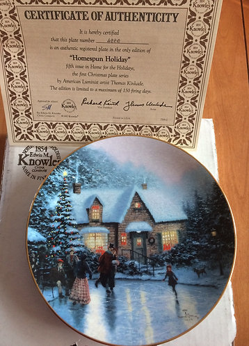 Homespun Holidays by Thomas Kinkade