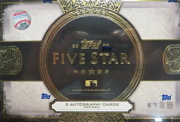 2020 Topps Five Star Hobby box