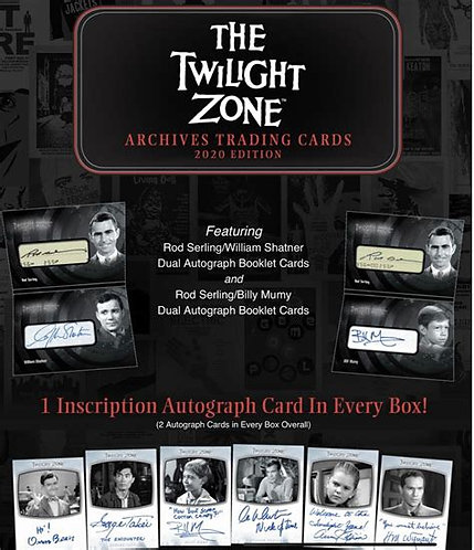 2020 Twilight Zone Archives box