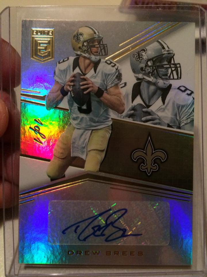 Elite Brees 1/1 auto