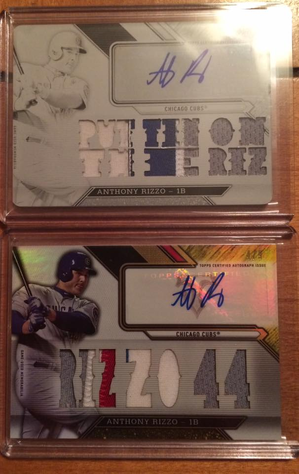 Triple Threads Rizzo Gold and White whale autos