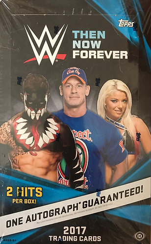 2017 Topps WWE Then, Now, and Forever Hobby box