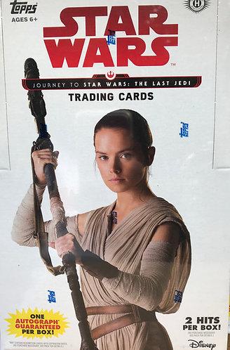 Star Wars Journey to The Last Jedi Hobby box
