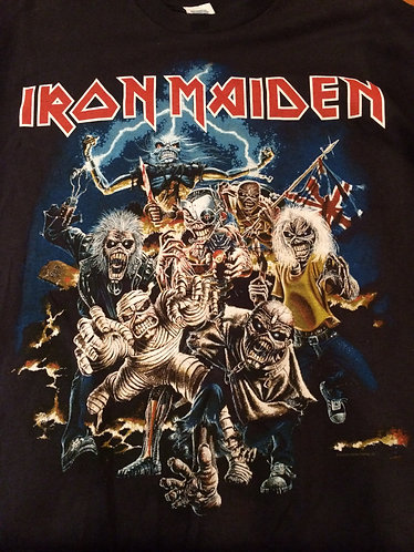 Iron Maiden T-shirt - Large Short Sleeves (see description)