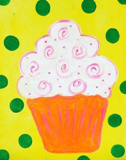 Swirl Cupcake