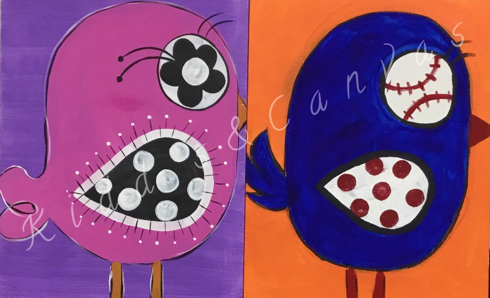 Birdy (Boy & Girl)