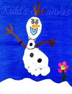 Olaf Footprint