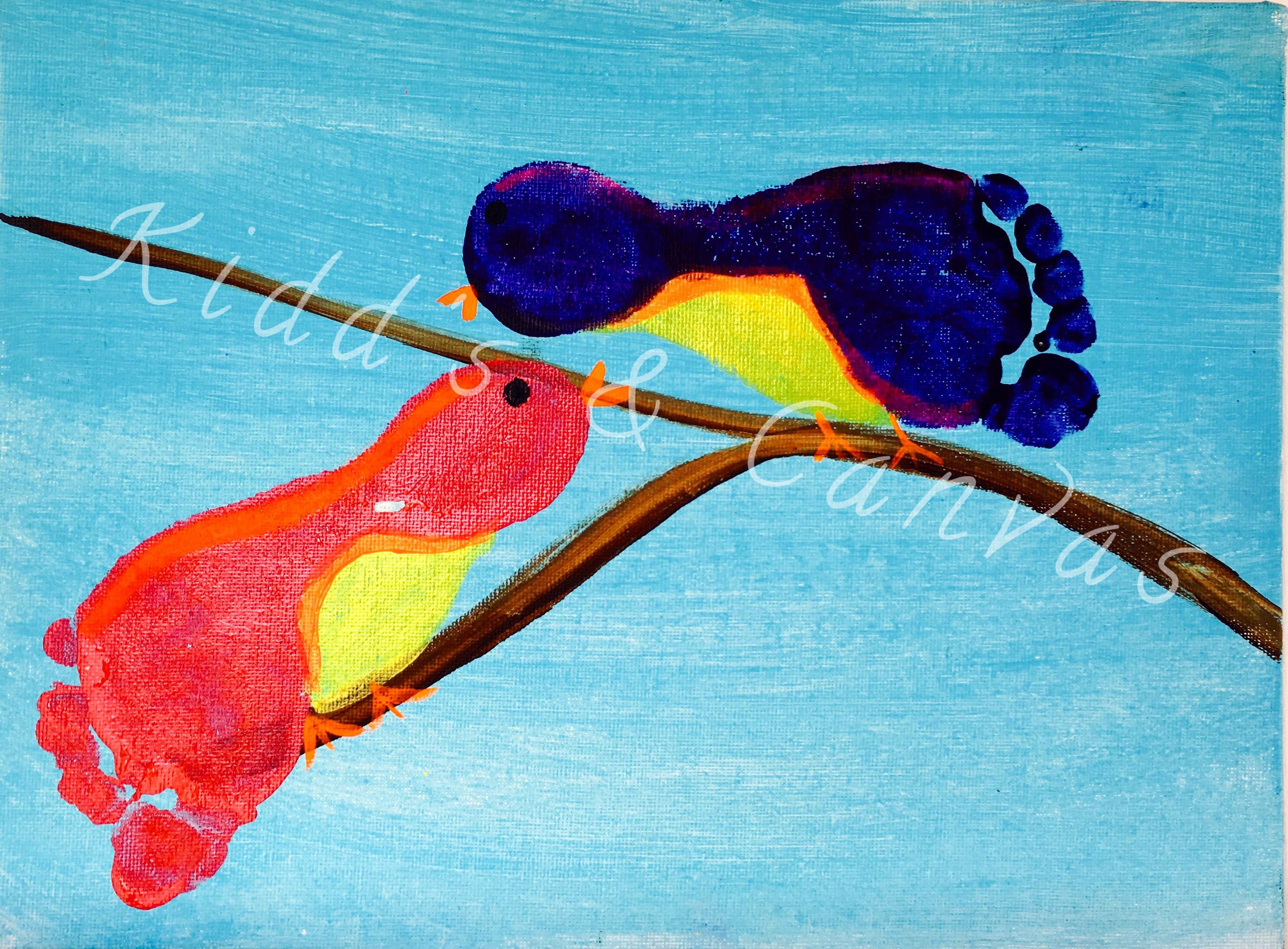 Birds on a Branch Footprint