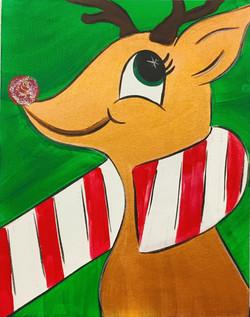 Candy Cane Deer
