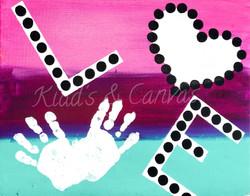 LOVE Handprint V