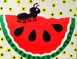 Watermelon W/ Ant