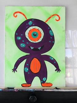 1/2 Alien Monster