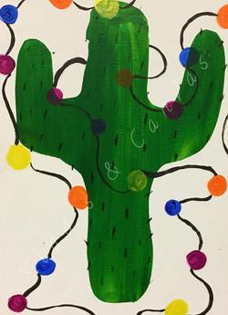 Toddler Christmas Cactus