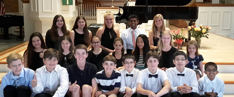 Lana's Students from Delray Beach and Boca Raton. Professional Piano lessons by Lana's Piano Studio.