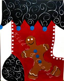 Gingerbread Stocking
