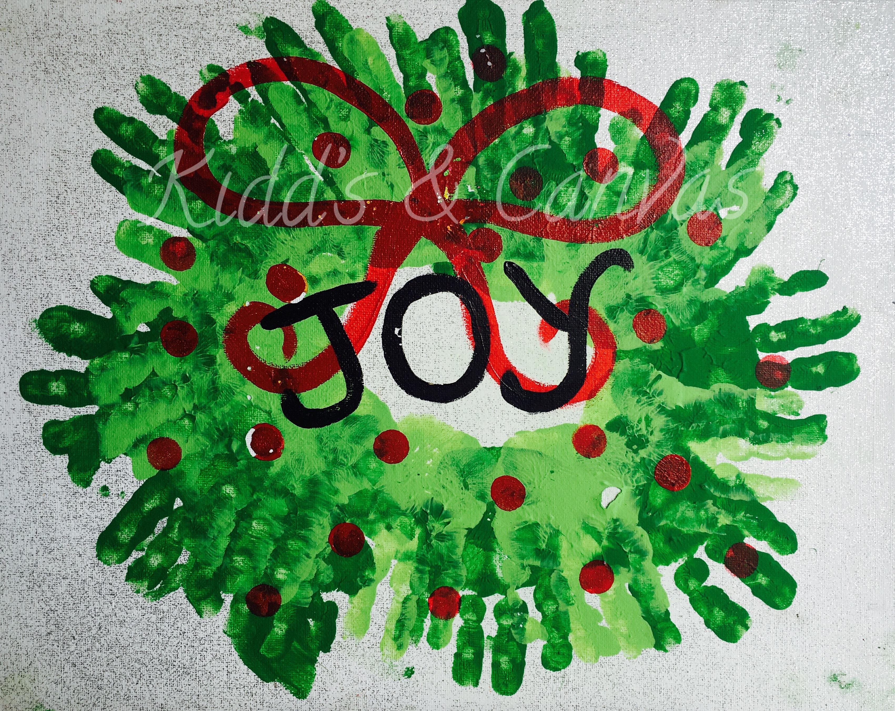 Toddler Joy Wreath