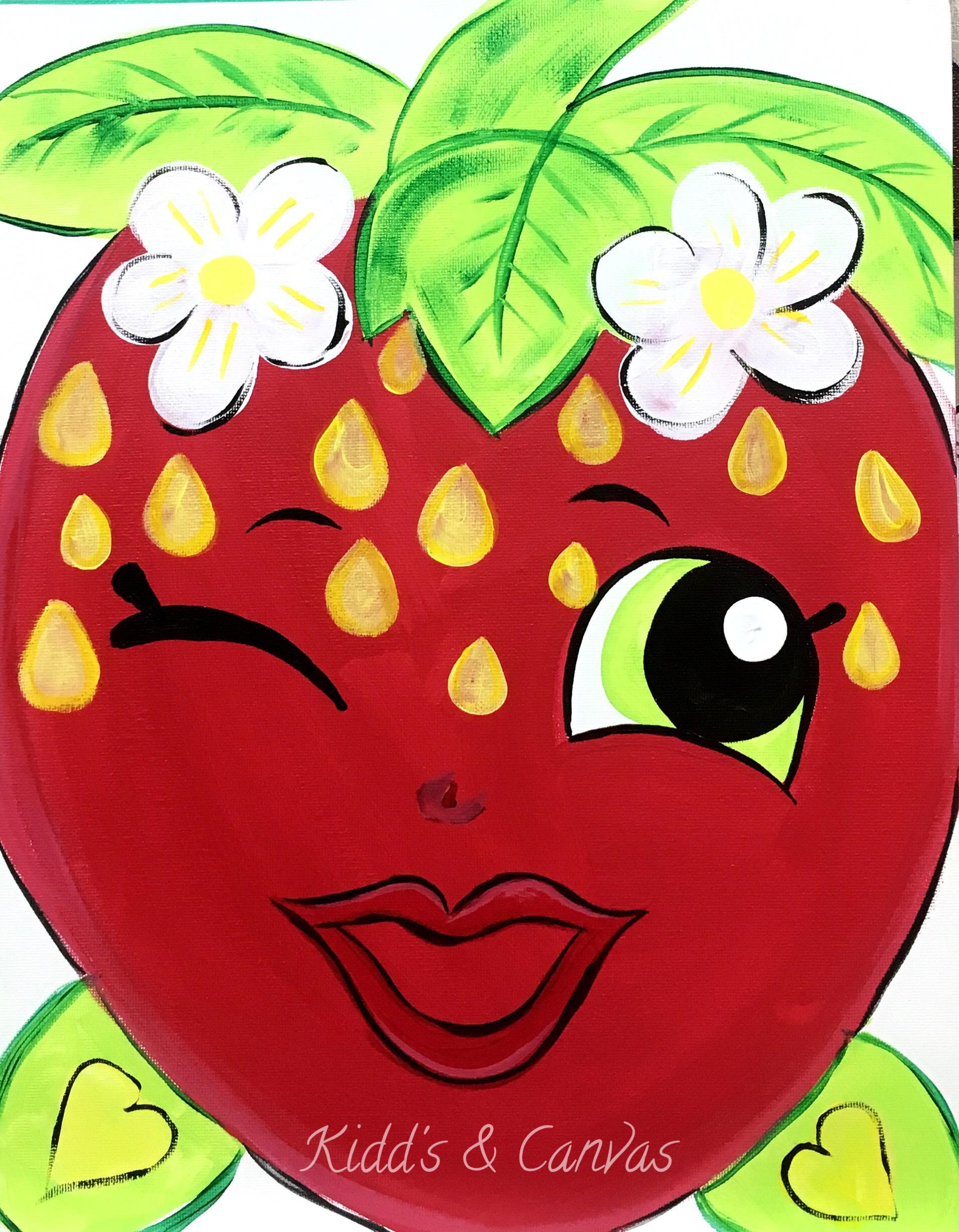 Strawberry Kiss Shopkin