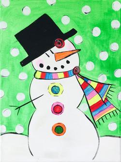 Snow Fall Snow Man