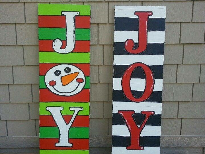 Joy Stripes Paintings