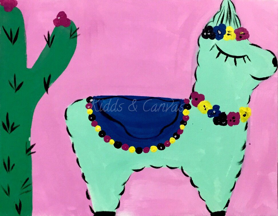 Fiesta Llama pink