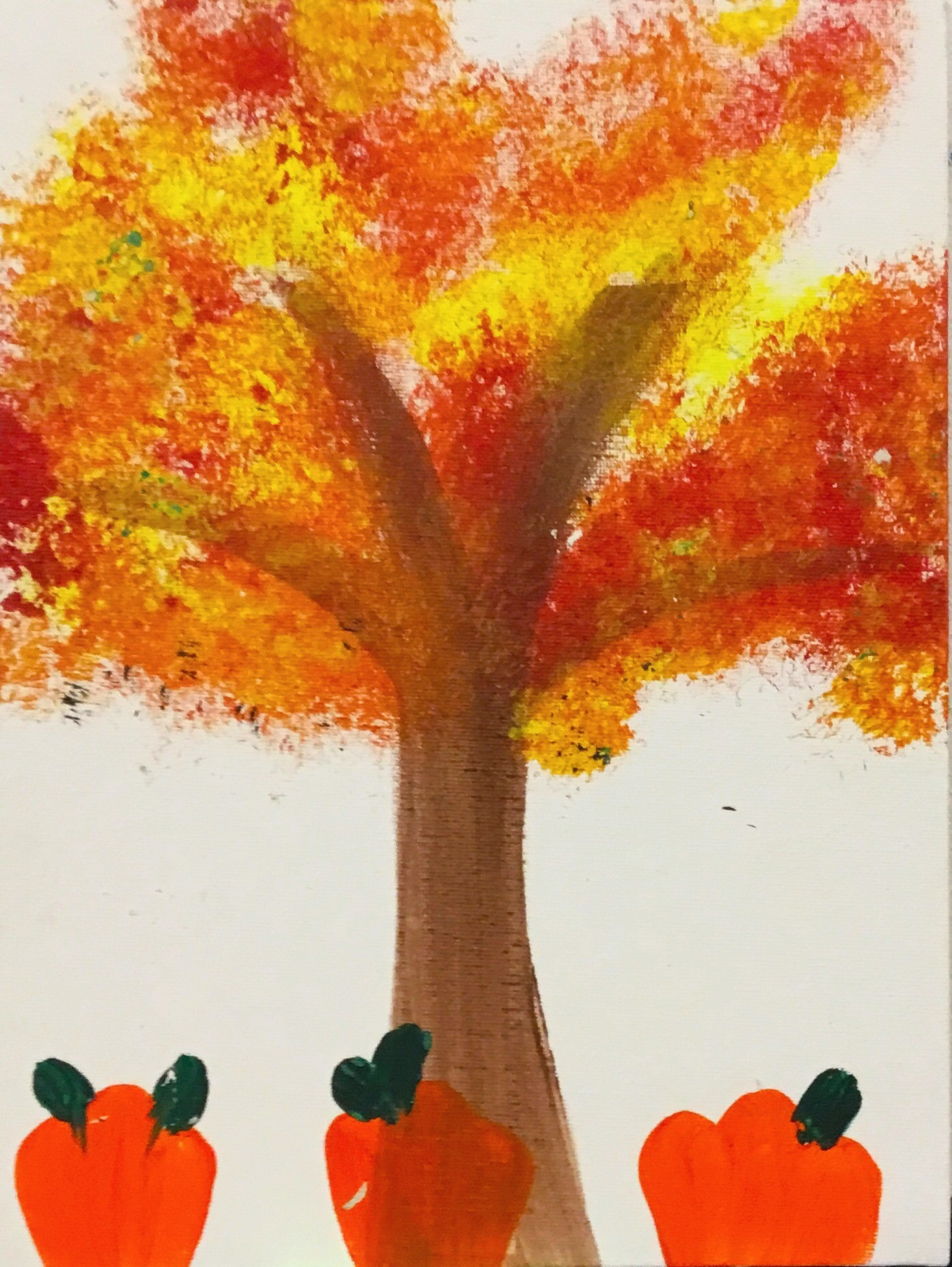 Toddler - Fall Trees