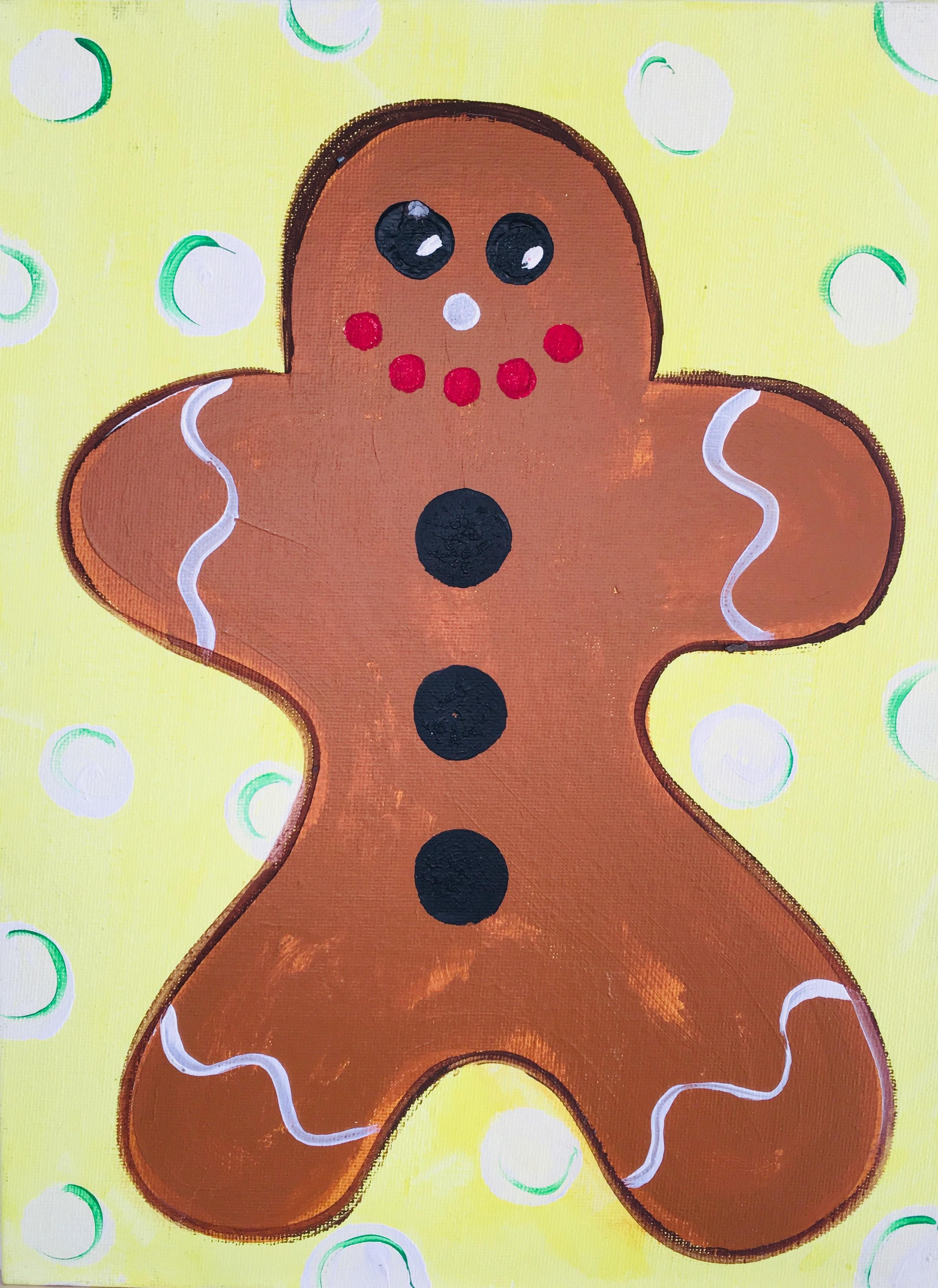 Toddler - Gingerbread Man