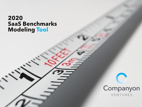 Companyon SaaS Benchmarks Tool: 2020 Edition