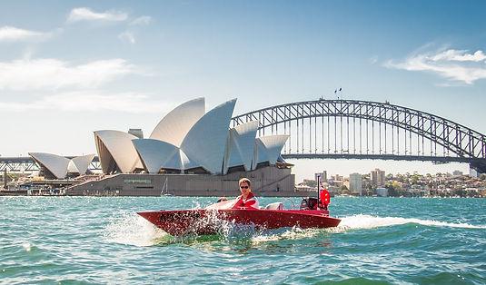 Dirk's two-man Speedboats