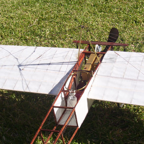 Note the detail of the struts and fuselage along with the mailbag.