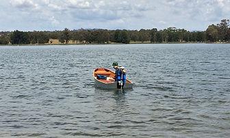 Grant Toyer Joey on Lake Ginnanderra.jpg