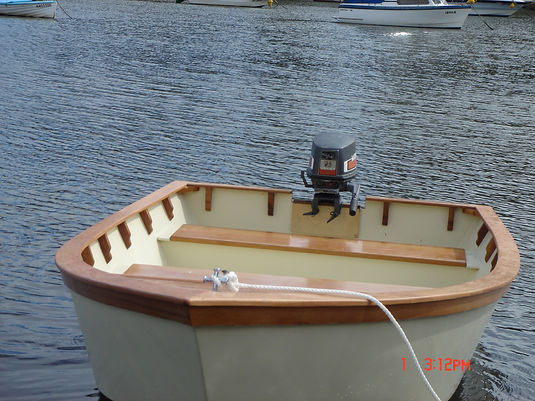 12ft Runabout finished with Aquacote and clear system