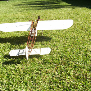 Ready for take-off. The original bleriot is on display at the powerhouse museum.
