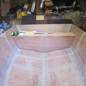 Working on internal bulkheads