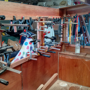 Never enough clamps…
