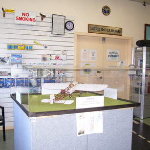 The model on display at the Australian Aviation Museum at Bankstown.