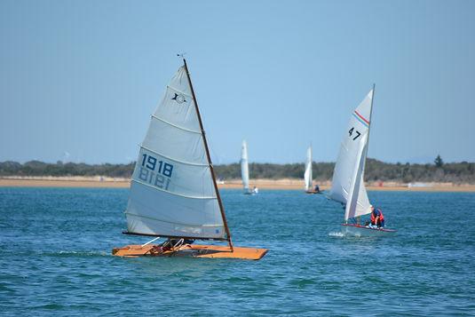 "Chris' Sailfish ""Janus"" and MacGregor Sailing Canoe."