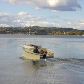 Underway on Lake Macquarie
