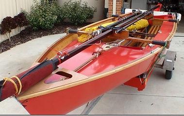 Finished Boat unrigged on Trailer.jpg