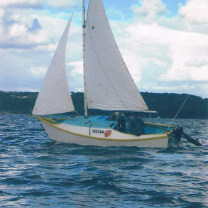 Sea trials under sail with a well balanced rig.
