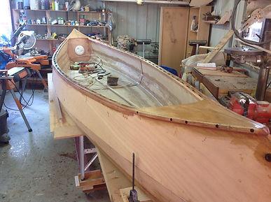 Pink Marine Ply Canoe.JPG