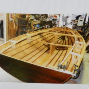 The body of the skiff