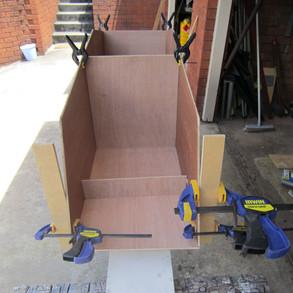 Making up bulkheads before fitting