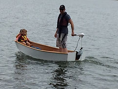 Grants Son & Grand daughter on Lake Ginnanderra.jpg