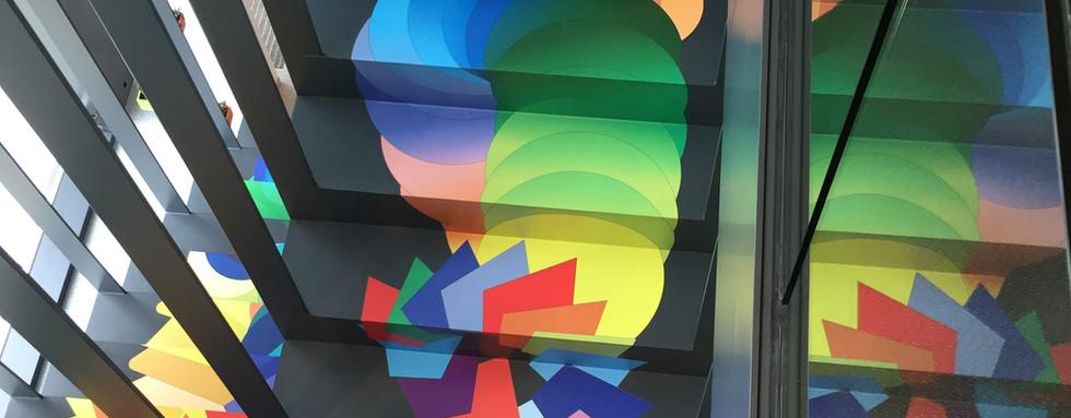 Escalier @Aleva Luxembourg