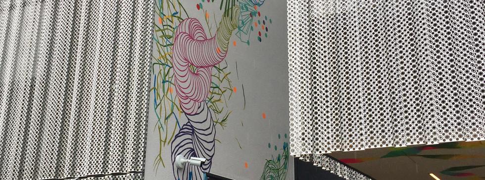Habillage bâtiment @Aleva Luxembourg